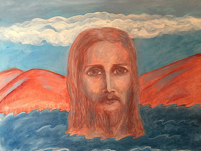 CHRIST UPON THE WATERS